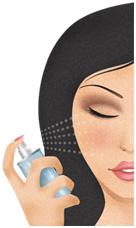 Makijaż mineralny - Aplikacja na mokro